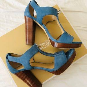 Michael Kors Berkley sandal demin